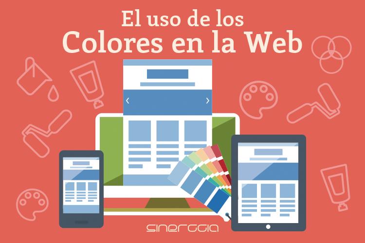 El uso de colores en la web