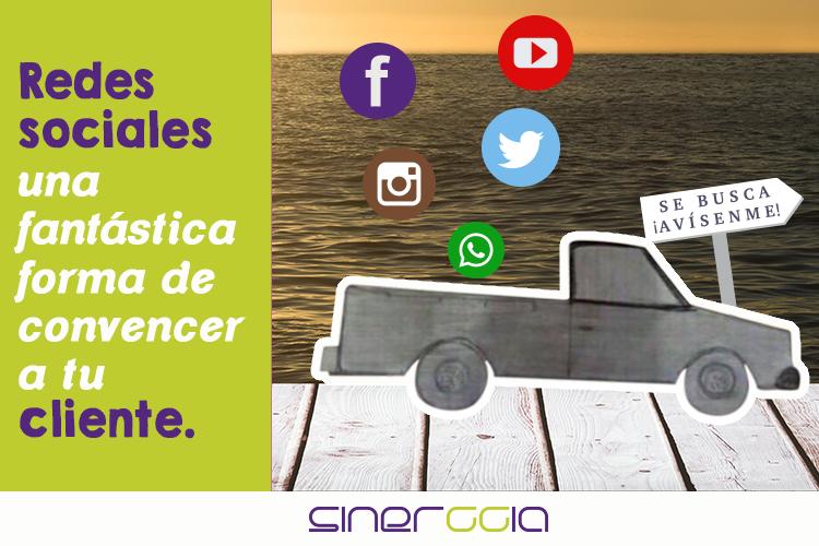 Las redes sociales como forma de convencer a tu cliente.